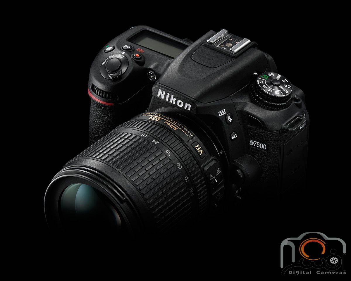 Nikon-D7500-DSLR-camera-lens