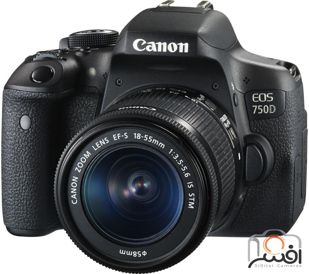 Canon 750D 18-55