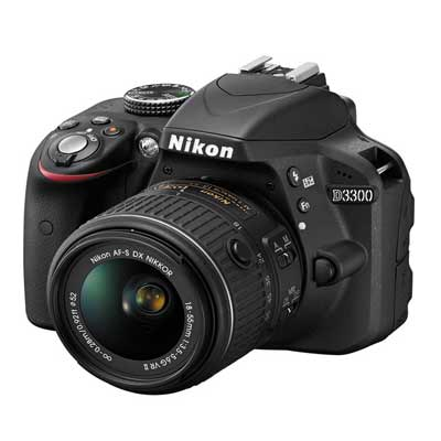 Nikon D3300 DSLR Camera with 18-55mm